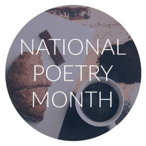 Image result for national poetry month 2018