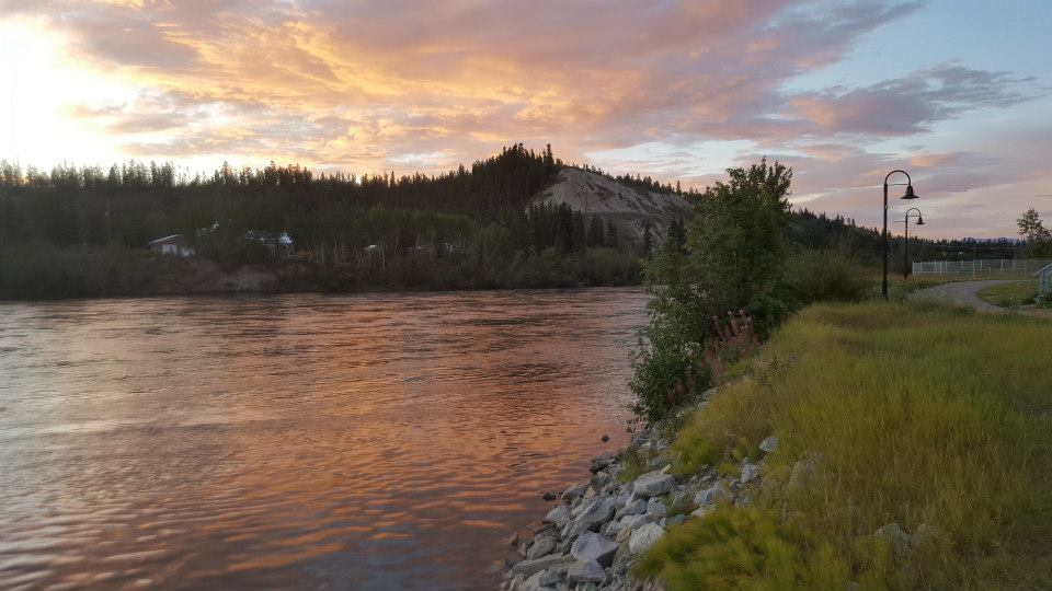 sunrise in whitehorse