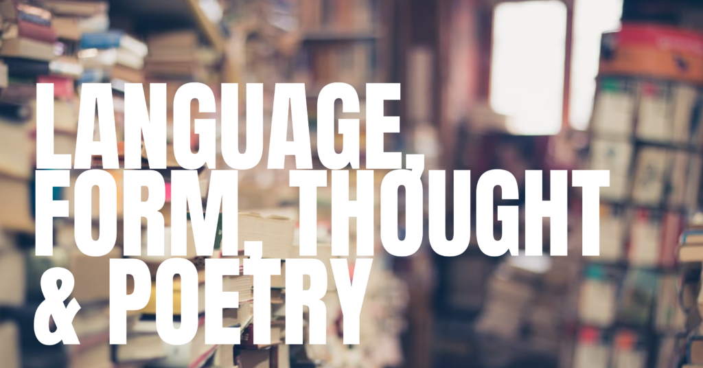 LANGUAGE FORM THOUGHT