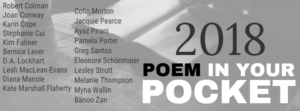 #NPM18: TODAY IS POEM IN YOUR POCKET DAY!